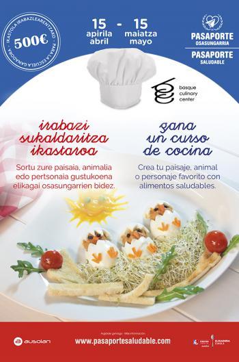 Cartel cocina creativa